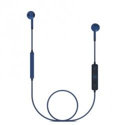 Energy Sistem Audífonos Intrauriculares Energy Earphones 1, Inalámbrico, Bluetooth, Negro/Azul