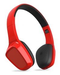 Energy Sistem Audífonos con Micrófono Headphones 1, Bluetooh, Inalámbrico, Rojo