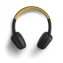 Energy Sistem Audífonos HEADPHONES 3, Bluetooth, Inalámbrico, Negro/Amarillo