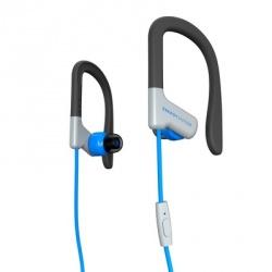 Energy Sistem Audífonos Deportivos con Micrófono Earphones Sport 1, Alámbrico, 1.2 Metros, 3.5mm, Azul