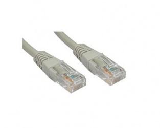 Enet Cable Patch Cat5e UTP RJ-45 Macho - RJ-45 Macho, 7.6 Metros, Gris