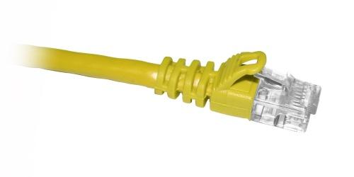 Enet Cable Patch Cat5e UTP sin Enganches RJ-45 Macho - RJ-45 Macho, 30.48cm, Amarillo