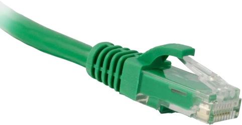 Enet Cable Patch Cat6 UTP Moldeado sin Enganches RJ-45 Macho - RJ-45 Macho, 30cm, Verde