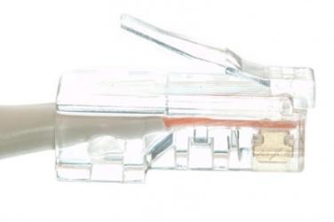 Enet Cable Patch Cat6 UTP RJ-45 Macho - RJ-45 Macho, 4.2 Metros, Gris