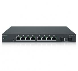 Switch EnGenius Gigabit Ethernet EWS1200D-10T, 8 Puertos 10/100/1000Mbps + 2 Puertos SFP, 20 Gbit/s, 8000 Entradas - Gestionado