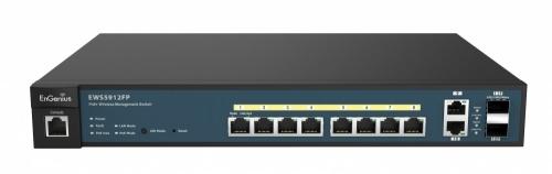 Switch EnGenius Gigabit Ethernet EWS5912FP, 8 Puertos 10/100/1000Mbps + 2 Puertos SFP, 24 Gbit/s - Gestionado