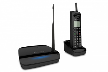 EnGenius Teléfono de Largo Alcance FreeStyl 2, Inalámbrico, Altavoz, Negro