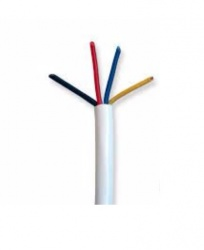 Enson Cable de Alarma de 4 Hilos, 40 Metros, Gris