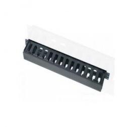 Enson Organizador de Cables Horizontal para Rack 19'', 1U