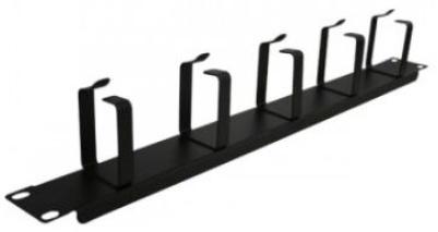 Enson Organizador Horizontal de Cables 19'', 1U, Negro