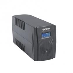 No Break Epcom EPU850LCD, 510W, 850VA, Entrada 80V - 150V, Salida 120V, 6 Contactos