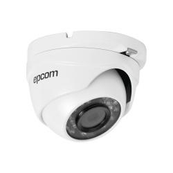 Epcom Cámara CCTV Domo Turbo HD IR para Interiores/Exteriores LE7-TURBO-W, Alámbrico, 1280 x 720 Pixeles, Día/Noche
