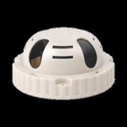 Epcom Micrófono Omnidireccional en Sensor de Humo, Alámbrico, 1000 Ohmios