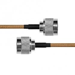 Epcom Cable Coaxial N Macho - N Macho, 60cm, Negro