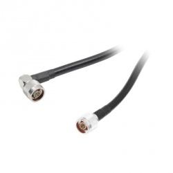 Epcom Cable Coaxial N Macho - N Macho, 1.20 Metros, Negro