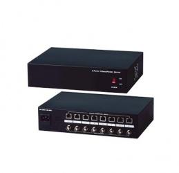 Epcom Receptor de Video Pasivo + Alimentación, 8x BNC, 8x RJ-45