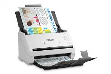 Scanner Epson DS-530, 600DPI, Escáner Color, Escaneado Dúplex, USB 3.0, Blanco