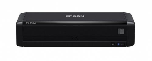 Scanner Epson WorkForce ES-300W, 600 x 600 DPI, Escáner Color, Escaneado Duplex, USB 3.0, Negro