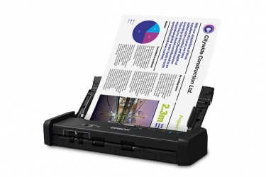 Scanner Epson DS-320, 600 x 600 DPI, Escáner Color, Escaneado Dúplex, USB 3.0, Negro