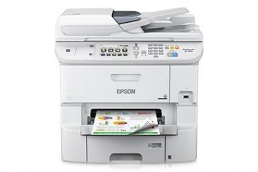 Multifuncional Epson WorkForce Pro WF-6590, Color, Inyección, Inalámbrico, Print/Scan/Copy/Fax