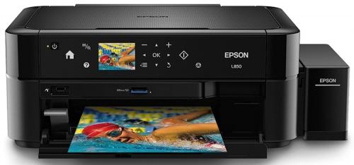 Multifuncional Epson EcoTank L850, Color, Inyección, Tanque de Tinta, Print/Scan/Copy/Fax