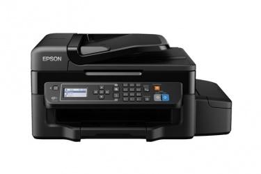 Multifuncional Epson EcoTank L575, Color, Inyección, Tanque de Tinta, Inalámbrico, Print/Scan/Copy