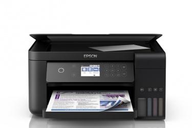 Multifuncional Epson EcoTank L6161, Color, Inyección, Tanque de Tinta, Inalámbrico, Print/Scan/Copy