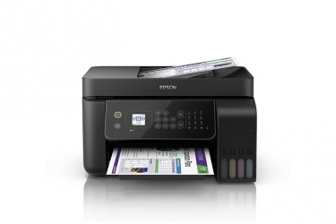 Multifuncional Epson EcoTank L5190, Color, Inyección, Tanque de Tinta, Inalámbrico, Print/Scan/Copy/Fax