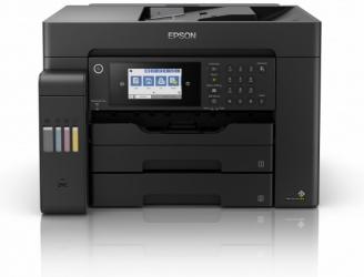 Multifuncional Epson EcoTank L15150, Color, Inyección, Tanque de Tinta, Inalámbrico, Print/Scan/Copy/Fax