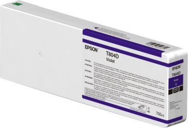 Cartucho Epson T804D00 Violeta UltraChrome HDX 700ml