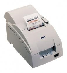 Epson TM-U220D, Impresora de Tickets, Matriz de Puntos, Serial, Blanco - incluye Fuente de Poder, sin Cables