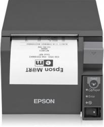 Epson Impresora Móvil TM-T70II, Térmico, Alámbrico, USB Type-B, Negro