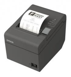 Epson TM-T20II, Impresora de Tickets, Térmico, Alámbrico, Serial + USB, Negro - incluye Fuente de Poder y Cable USB