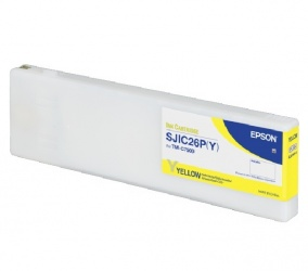 Cartucho Epson SJIC26P(Y) Amarillo 294.3ml