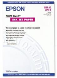 Epson Papel Photo Quality 102 g/m², 100 Hojas A3+, Blanco