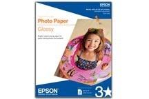 Epson Papel Glossy Calidad Fotográfica, 20 Hojas de Tamaño Carta