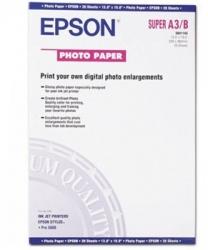 Epson Papel Fotográfico Glossy, 20 Hojas de A3+