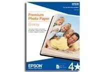 Epson Papel Premium Fotográfico Satinado, 20 Hojas de 11'' x 17''