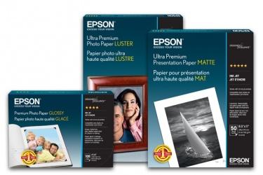 Epson Papel Fotográfico Ultra Premium Luster,  8.5