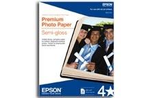 Epson Papel Fotográfico Premium Semigloss 251g/m², 4'' x 6'', 40 Hojas