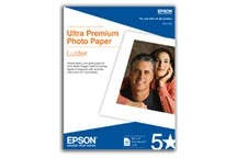 Epson Papel Fotográfico Ultra Premium Luster 240g/m², 17'' x 22'', 25 Hojas
