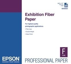 Epson Papel Fotográfico Exhibition Fiber 325g/m2, 13