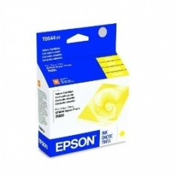 Cartucho Epson T054420 Amarillo, 400 Páginas