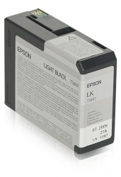 Cartucho Epson UltraChrome K3 Negro Light 80ml