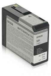 Cartucho Epson UltraChrome K3 Negro Mate 80ml