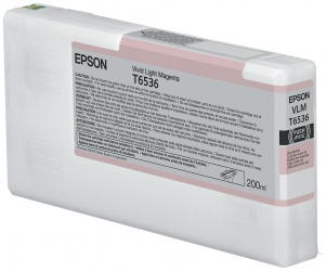 Cartucho Epson Ultrachrome HDR Magenta Claro Vivo 200ml