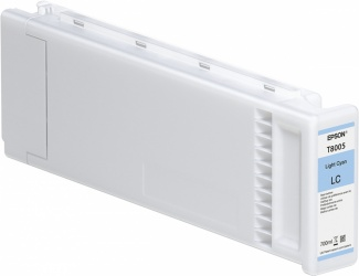 Cartucho Epson UltraChrome Pro T800500 Cyan Claro, 700ml