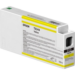 Cartucho Epson UltraChrome HDX T834400 Amarillo 150ml