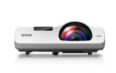 Proyector Epson PowerLite 530 3LCD, XGA 1024 x 768, 3200 Lúmenes, Tiro Corto, con Bocinas, Blanco
