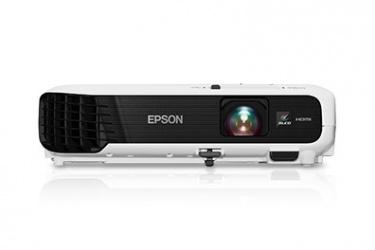 Proyector Epson VS340 3LCD, XGA 1024 x 768, 2800 Lúmenes, con Bocinas, Negro/Blanco
